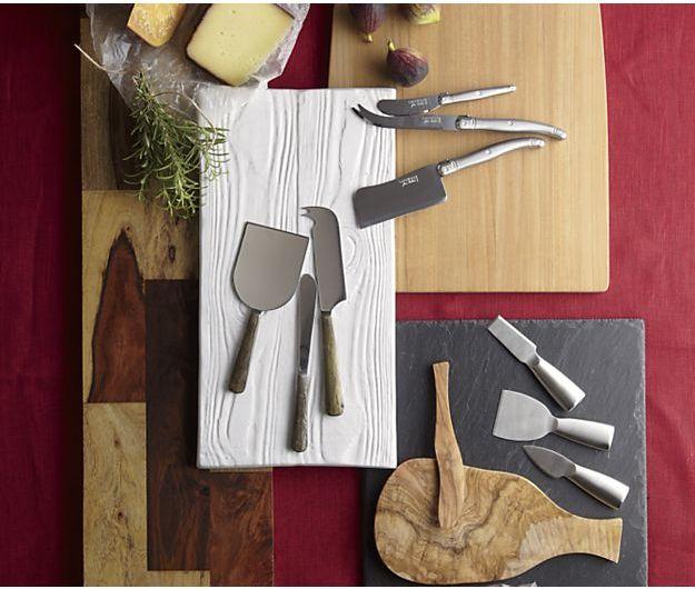 Crate & Barrel Laguiole ® Cheese Knife 3-Piece Set