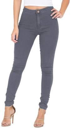 ESDAMIER Women's Classic Butt-Lifting Straight-Leg Jean(, S)