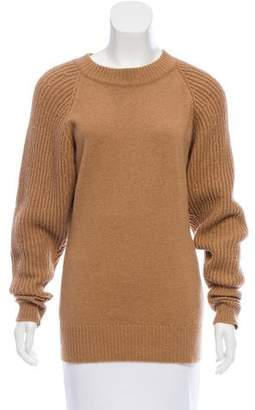 Chanel Camel Hair Crew Neck Sweater