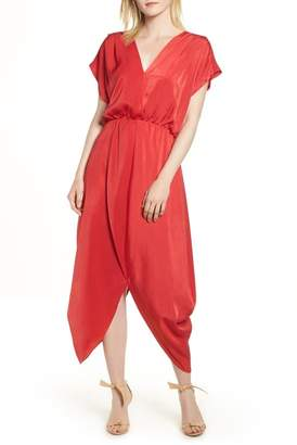 Halogen Faux Wrap Maxi Dress (Regular & Petite)
