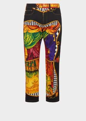 Versace Sipario Print Jeans