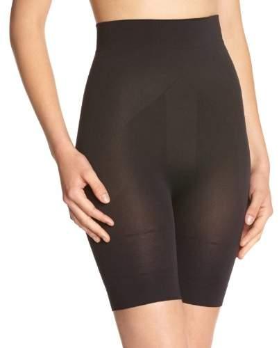 Skin'up Women's Panty push-up micro-encapsulé Plain or unicolor Girdle - Black - Black -