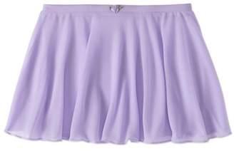 Danskin Girls' Chiffon Ballet Dance Skirt