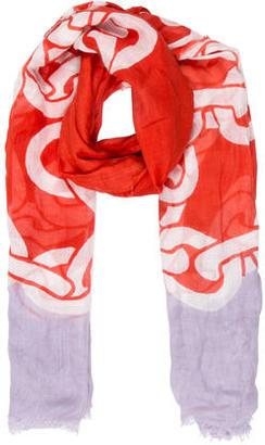 Diane von Furstenberg Printed Hanovar Scarf $55 thestylecure.com