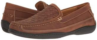Johnston & Murphy Fowler Causal Woven Venetian Slip-On Men's Slip on Shoes