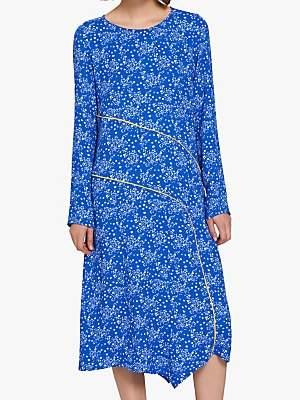 Ghost Alchemy Floral Dress, Rebecca Flower Blue