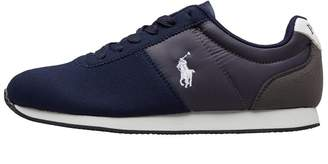 Ralph Lauren Junior Brightwood Trainers Navy/Charcoal