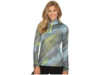 Spyder Collection T-Neck Top Women's Long Sleeve Pullover
