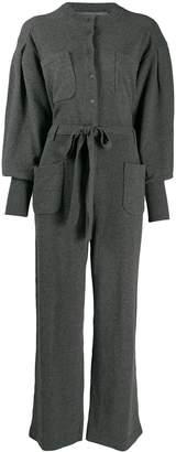 Alberta Ferretti oversized belted jumpsuit