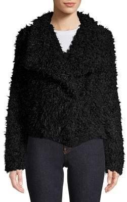 Vero Moda Long Sleeve Faux Fur Jacket