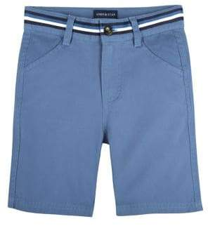 Andy & Evan Boy's Belted Twill Shorts