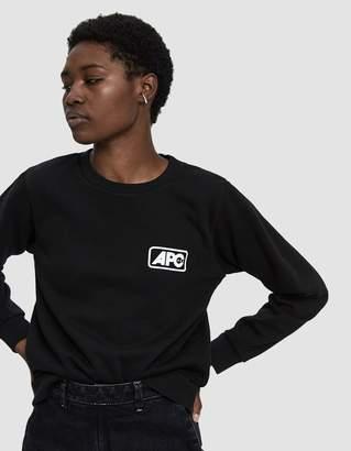 A.P.C. Odette USA Logo Sweatshirt