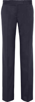 Stella McCartney Jasmine Wool-twill Wide-leg Pants - Navy