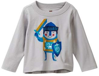 Tea Collection Little Knight Graphic Tee (Baby Boys)