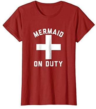 Mermaid On Duty Guard T-Shirt