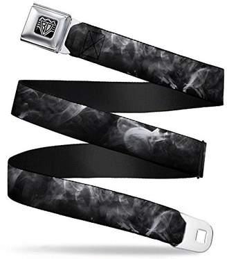 Buckle-Down Unisex-Adults Seatbelt Belt Smoke Regular