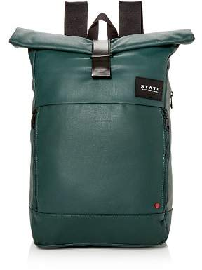 STATE Colby Coated Canvas Backpack