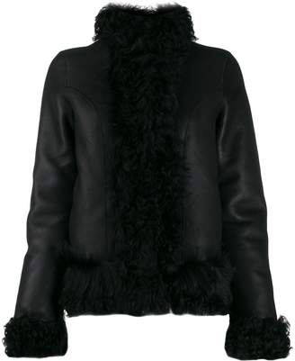 Saks Potts high-neck jacket