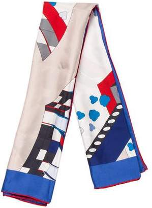 Chanel 2016 Airlines Silk Scarf