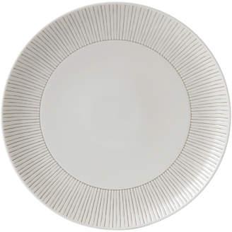 Royal Doulton ED Ellen DeGeneres for Taupe Stripe 28cm Plate