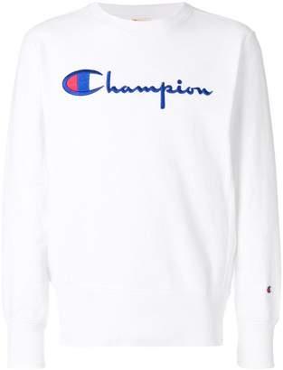 Champion logo-embroidered sweatshirt