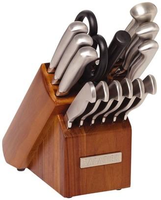 Sabatier 15-pc. Stainless Steel Knife Block Set