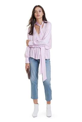 Country Road Tie Neck Blouse