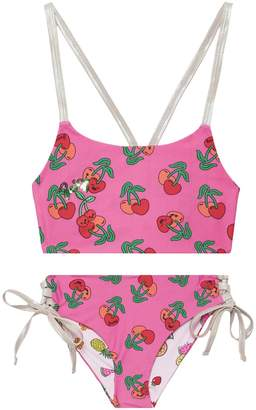 Juicy Couture Juicy Fruits Reversible Two Piece Swimsuit for Girls