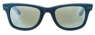 Ray-Ban Iridescent Wayfarer Sunglasses $75 thestylecure.com