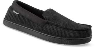 Isotoner Men's Luke Boxed Corduroy Moccasin Slippers