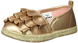 Osh Kosh Belle Girl's Beachy Espadrille Flat Loafer