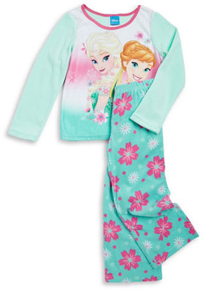 Ame Sleepwear Frozen Fleece Pajama Set $36 thestylecure.com