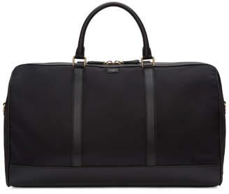 Dolce & Gabbana Black Nylon Duffle Bag