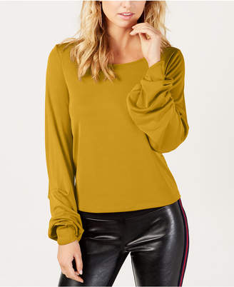 INC International Concepts I.n.c. Petite Balloon-Sleeve Top, Created for Macy's