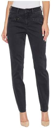 NYDJ Skinny Chino Pants w/ Zipper Women's Casual Pants