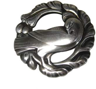 Georg Jensen Sterling Silver Denmark Dove Bird Brooch
