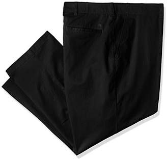 Haggar Men's Big and Tall Coastal Comfort Classic Fit Superflex Flat Front Pant