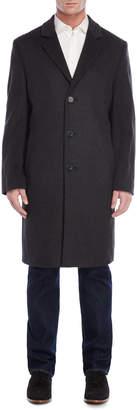 MICHAEL Michael Kors Dark Heather Grey Wool Coat