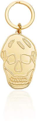 Alexander McQueen Gold-Plated Skull Key Ring