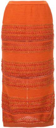 Coohem knitted skirt