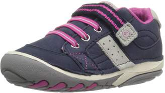 Stride Rite Girl's SRT SM Artie Shoes, Navy/Pink