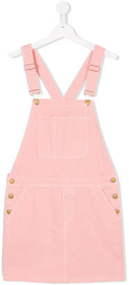 Finger In The Nose dungaree dress