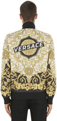 Versace Reversible Printed Nylon Jacket