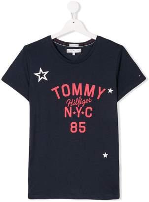 Tommy Hilfiger Junior TEEN printed T-shirt