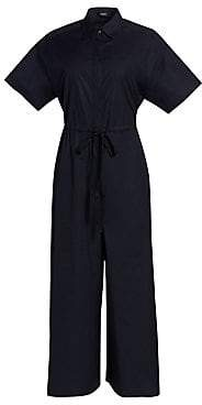 Theory Women's Cotton Workwear Jumpsuit