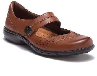 Rockport Perforated Leather Mary Jane Flat - Wide Width Available
