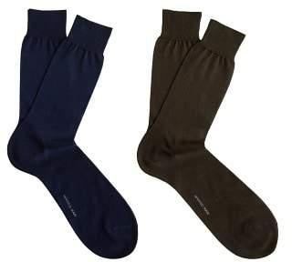 MANGO MAN 2 pack plain socks