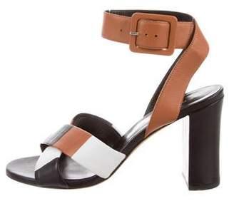 Derek Lam Peep-Toe Ankle-Strap Pumps