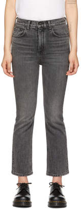 Rag & Bone Black Hana Jeans