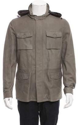 Armani Collezioni Nubuck Utility Jacket w/ Tags